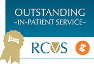 In Patient Service RCVS award